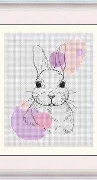Hare by Zina Kramar