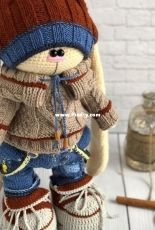 Irina Tarasova - Crochetbunnyart - Mario set - Clothes Only -