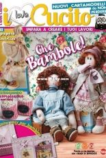 I Love Cucito - issue 28 - Dolls special - April May 2019 - Italian