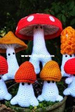 Crafty Intentions - Megan Lapp - Mushroom Sprites