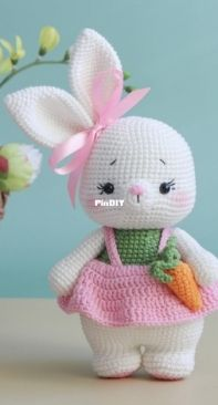 My Crochet Wonders - Marina Chuchkalova - Sunshine the Bunny