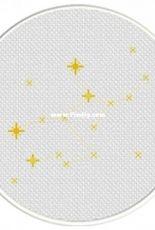 Daily Cross Stitch - Virgo Constellation
