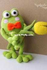 My Crochet Wonders - Marina Chuchkalova - Kvakin Frog - Russian