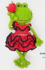 MedvedevaToys - Crochet pattern Frog - English or Russian