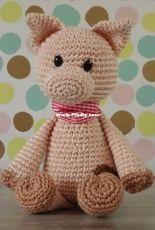Danis Creaties - Danielle Eveleens - Mini Bram Pig - Dutch