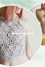 Beautiful Crochet Stuff - Jane Green - Crochet Crop Top Pattern