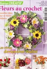 Creative Diana - Issue 194 Crochet Flowers - French