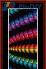 Cross Stitch Collectibles - Fractal 130 Bookmark - FR-130