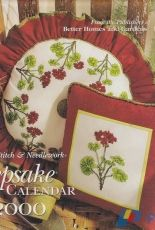 Keepsake Calendar 2000- Cross Stitch & Needlework