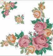 Burda 5/1995 Beautiful roses