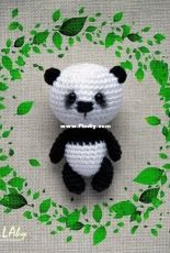 Tatyana Matyushkova - Panda keychain bag charm - Translated - Free