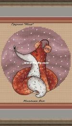 MiAxStitch - Christmas Fox by Minasyan Yana