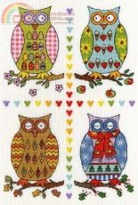 Bothy Threads - 4 owls