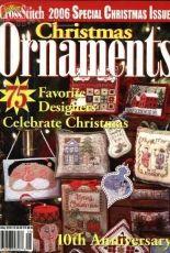 Just Cross Stitch JCS Christmas Ornaments 2006