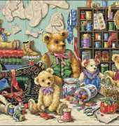 Dimensions 35151 Buttons n Bears