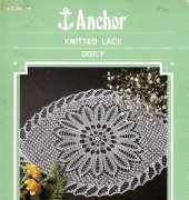 Anchor 146 knitted lace doily