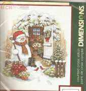 Dimensions 8817 Garden Shed Snowman