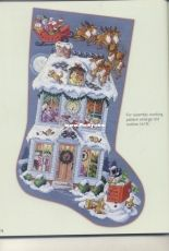 Twas the Night Before Christmas Leisure Arts 4082 Donna Koolers Ultimate Stocking Collection by Sandy Orton