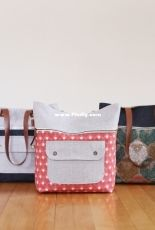 Caravan tote and pouch by Noodlehead