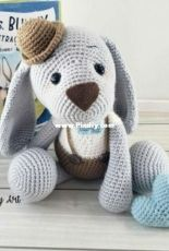 Sweet Oddity Art - Carolyne Brodie - Baxter the Bunny crochet pattern
