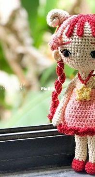 Anvis Granny Handicraft - Joy Pham Sontakke - #070 - Zodiac Princess Aries