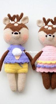 Happy Dolls Handmade - Julia Negovorina - Baby Deer