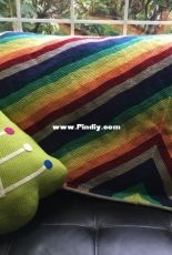 Shifted Chevron Blanket by Theresa Bandy-Free