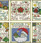 A Special Wish Christmas Cards from Joan Elliott from Cross Stitcher UK 154