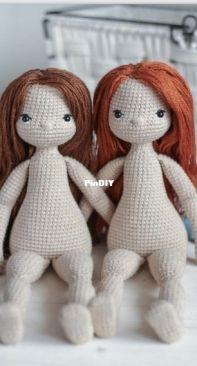 Ami Danami dolls and toys - Jelena Matyush - Flora