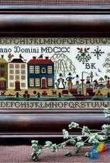 The Sampler Company-Plymouth Sampler by Brenda Keyes