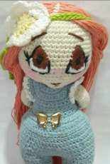 Anne Doll pattern Zombiegurumi