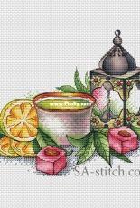 Green Tea by Svetlana Sichkar