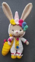 Amigurumi By Guli - Gulizar Ekiz - Sugar the bunny - Türkçe