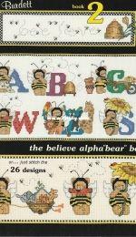 Jeanette Crews Designs - Dale Burdett DB-N010 Alphabears Book 2