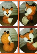 little fox for my friend pattern by mala design