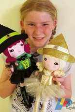 Dolls and Daydreams - Wonderful Witch Doll Sewing Pattern