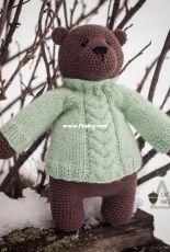 Sagulina Natalia - Bear Morosha's sweater - Russian - Free