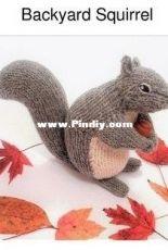 Backyard Squirrel by Sarah Elizabeth Kellner