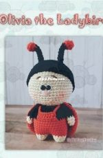 Soft Toy for Joy - Beata - Olivia the Ladybird - portuguese
