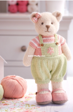 Mary Jane's Tearoom Candy Bear method 1 by Susan Hickson