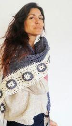 Mamma! DIY - Cecilia Losada - Margarita Shawl - Chal Margarita - Spanish