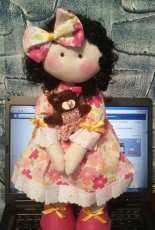 Doll with bear