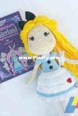 Sweet Oddity Art - Carolyne Brodie - Alice Doll Crochet Pattern