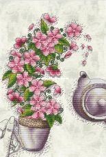 Art Stitch by Nadezhda Kazarina (Nadi) - Cherry Tea