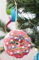 Michele Wilcox - Dangling Donut Ornament -  Free