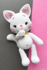 Zipzipdreams - Elif Tekten - Sunny the little angora Cat