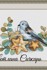 Birdie with a Star - Svetlana Sichkar