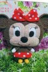 Jamecrochet - Minnie purse (mickey and friends) - Thai