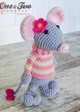 One and Two Company - Carolina Guzman - Mouse Amigurumi