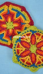 CAROcreated - Carola Herbst - 2 Motifs in Overlay crochet